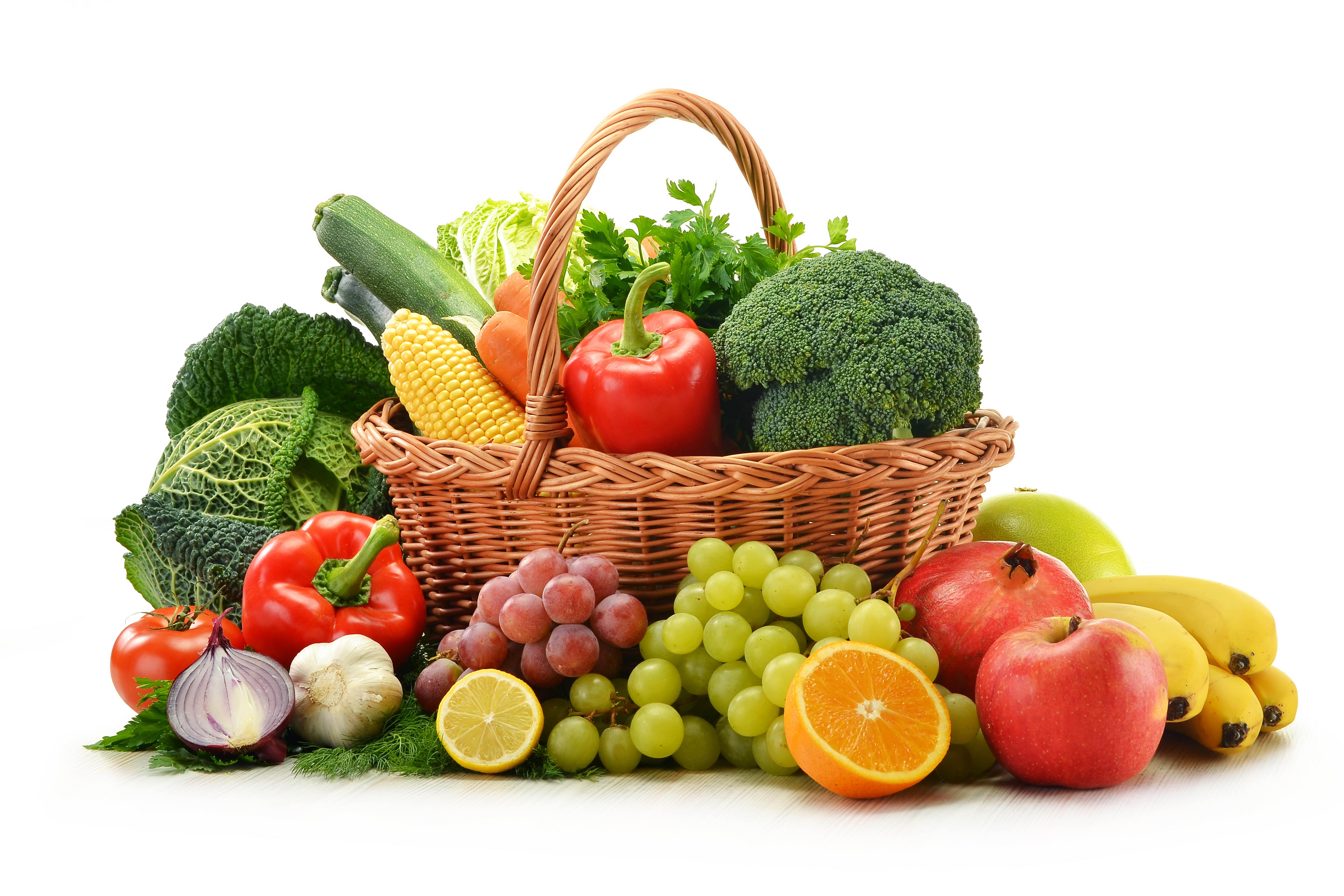 Чем полезны овощи и фрукты разных цветов? - фрукты и овощи
