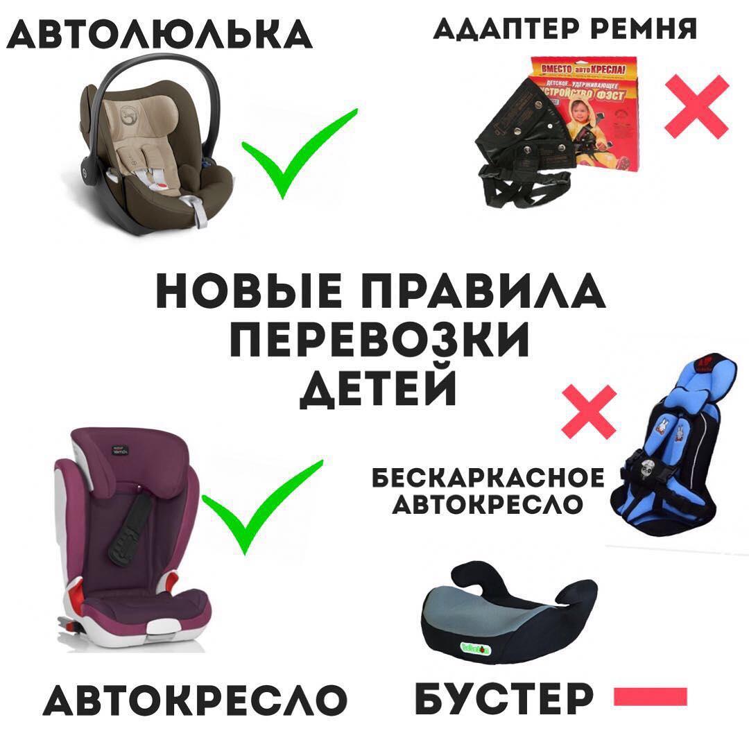 В законодательных актах, регулирующих правила дорожного движения, особое внимание уделяется перевозке детей в автомобиле.