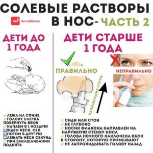 Солевой раствор для детей своими руками
